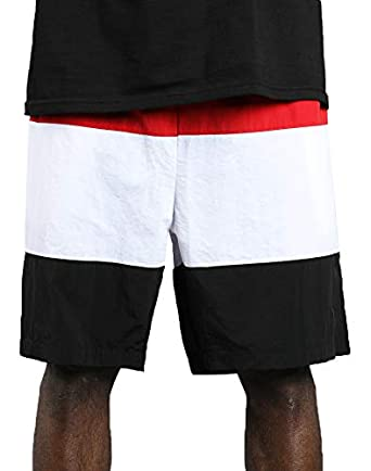 4afce4ff81 Fila Rob Swim Shorts (Chinese Red/White-Black, S) | Amazon.com