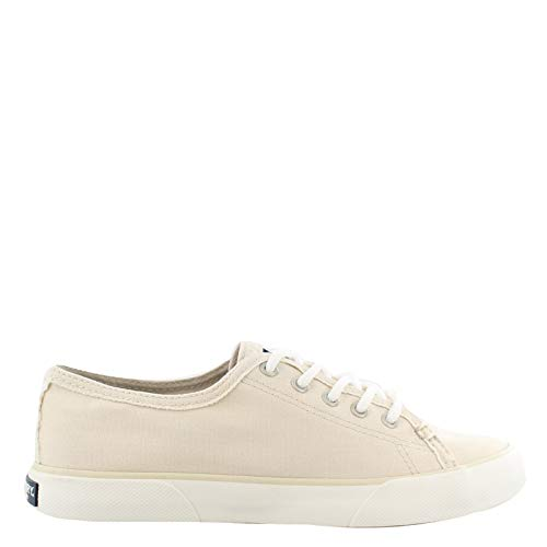 Sperry Top-Sider Pier Fray Sneaker Women 8.5 Off-White
