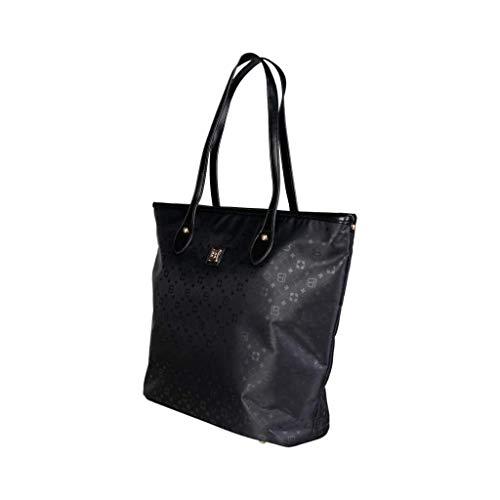 Black Biagiotti Shopping Bag Laura Donna OIF1xq