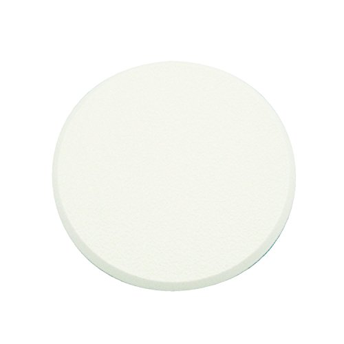 Prime-Line Products MP9243 Wall Protector, 3-1/4 in, Textured Surface, Rigid Vinyl, White, Self-Adhesive Backing, Pack of 5, ()