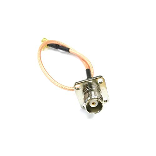 Wireless Patch Leads TNC Female Panel Mount Switch MCX Male Right Angle RF Jumper Cable Adapter RG316 6inch Wholesale New (Female Chassis Tnc)