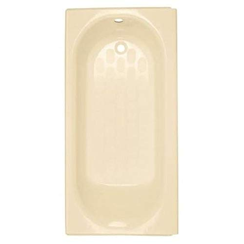 American Standard 2393202.021 Princeton Americast Above-Floor Rough-In Bathtub with Right Drain, 60 in x 30 in, Bone