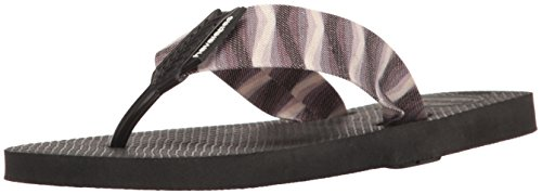Havaianas Men's Flip Flop Sandals, Urban Series , Black/Black,43/44 BR (11/12 M US)