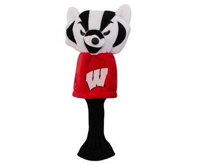NCAA Wisconsin Badgers Golf Mascot Driver Headcover, Long Neck ()