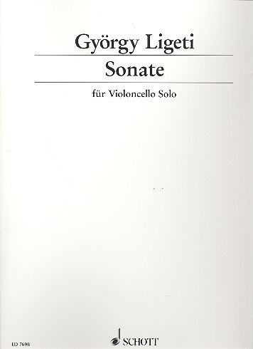 Download Ligeti: Sonata for Solo Cello PDF