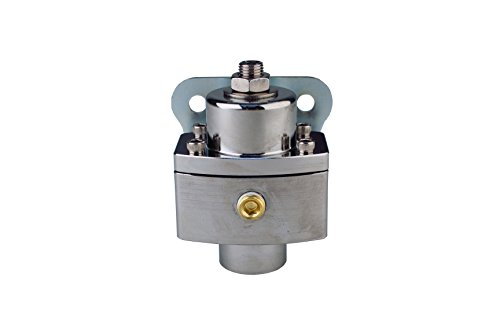 - Aeromotive 13251 Regulator, Carbureted Adjustable, Billet 2-Port AN-6 PLATINUM SERIES