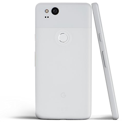 totallee Pixel 2 Case, Thinnest Cover Premium Ultra Thin Light Slim Minimal Anti-Scratch Protective - for Google Pixel 2 (Frosted White)