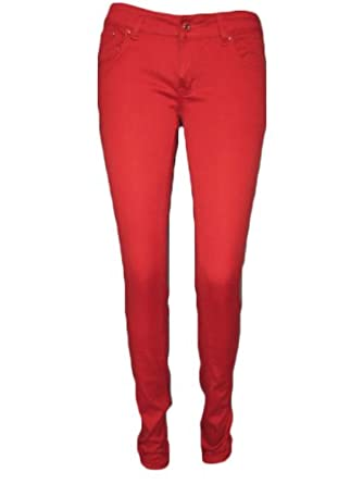 Coloured skinny jeans uk