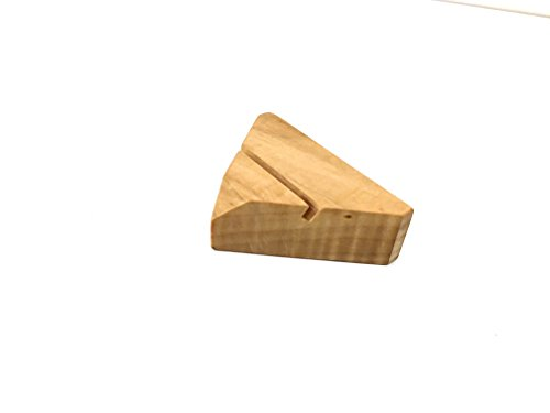 Modern Maple Wood Business Card Holder