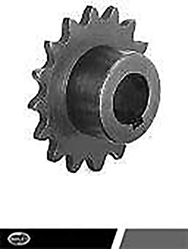 Black Oxide Finish Concentric Sprocket 1 Bore 133518 Hardened Teeth with Keyway 615986041901 40B15