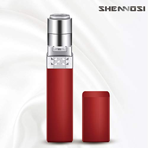 SHENNOSI Epilator Facial Hair Removal for Women, Face Shavers Hair Remover with Rechargeable Battery, Womens Painless Hair Remover Perfect for Good Finishing and Well Touch