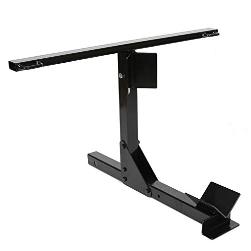 New Heavy Steel Black Motorcycle Trailer Carrier Tow Dolly Hauler Hitch Rack (Car And Motorcycle Tow Dolly For Sale)