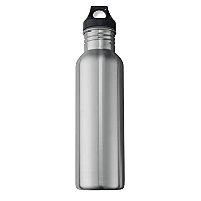Neiko 71010 Stainless Steel Sports Water Bottle with Wide Mouth | 0.75L