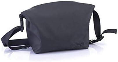 トイレタリーバッグ化粧品袋 トイレタリーバッグトラベルと旅行はポータブルストレージ大容量防水コスメティックバッグ用品 シェービングキットオーガナイザーバッグ (色 : Black, Size : 20x15x9cm)