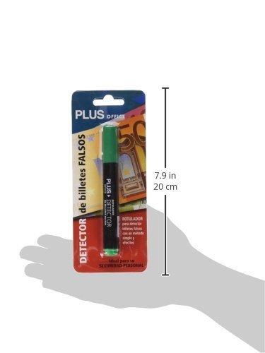 1x Rotulador Plus Office Detector Verificador de Billetes Falsos de Euros: Amazon.es: Electrónica