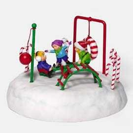 ''Frosty Playground'' Heritage Village Collection North Pole Series