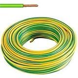 ICEL 00007404102 cable de alambre N07V - K sección 1,5 mm², arrollamiento: 100 M, amarillo-verde