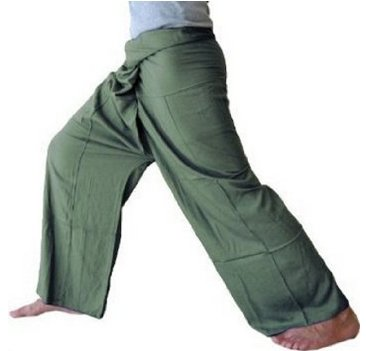Fisherman Pants Yoga Clothes 1002 Olive green
