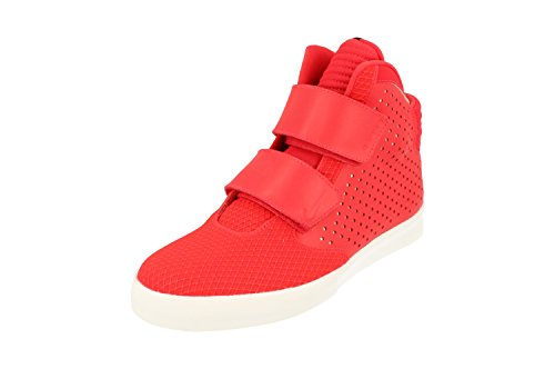 NIKE Flystepper 2K3 PRM Mens Hi Top Trainers 677473 Sneakers Shoes (UK 6 US 7 EU 40, Action Red White 602)
