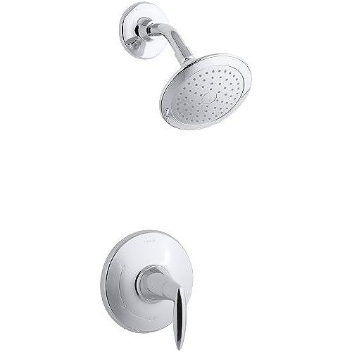 modern shower heads. KOHLER K-T45106-4-CP Alteo Shower Trim, Valve Not Included, Polished Chrome Modern Heads