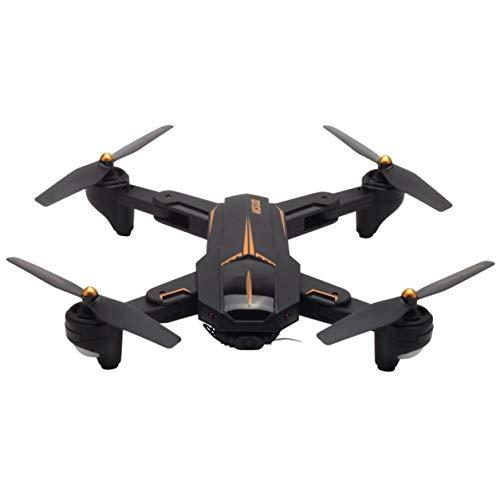 XS812 Foldable GPS Quadcopter RCドローン2MPのHDカメラWiFi + GPS航空機(色:ブラック)