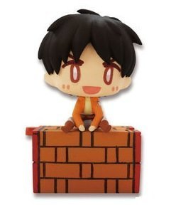 Attack On Titan Ear Phone Jack Figure~Eren Yeager