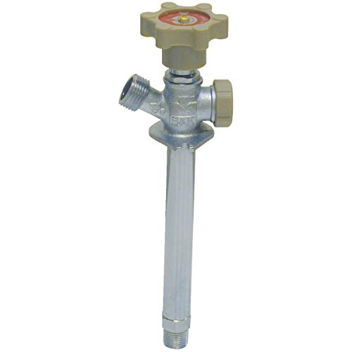 ProLine QuarterMaster 1/2 In MIP X 1/2 In Solder Anti-Siphon Frost Free Wall Hydrant - 104-823HC-Pack of ()