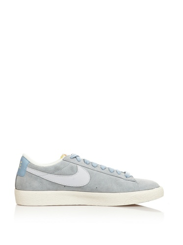 Nike - Fashion / Mode - Blazer Low Suede Vntg Wn - Blanc