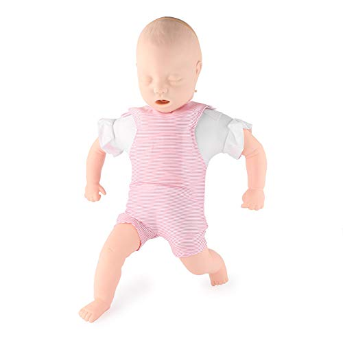 - Beautylady Baby Anne Infant Model CPR Trainer Model Obstruction First Aid Airway Baby Anne Manikin Model