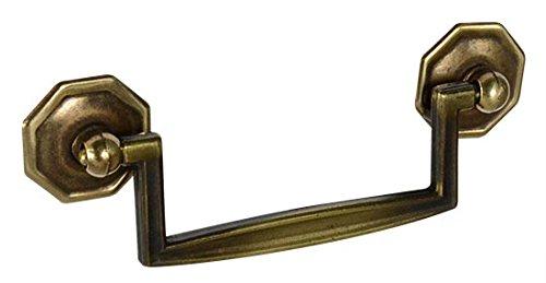 Antique Brass Designer Knobs - 8