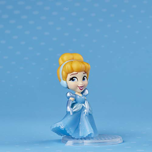 Disney Princess Comics Doll Toy Prince Charming, Glitter Pack with Cinderella