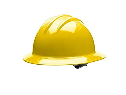 Image Unavailable. Image not available for. Color  Bullard Full Brim Hard  Hat Classic C33 6 Point Ratchet Suspension Yellow 59d71d675