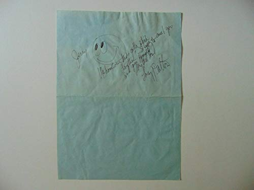 """Takin' It Easy"" Lacy J Dalton Hand Written Note W/Original Drawing Mueller COA from Unknown"