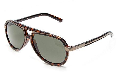 john-galliano-mens-aviator-sunglasses-havana-bronze-frame-green-lens-jg0035-52n
