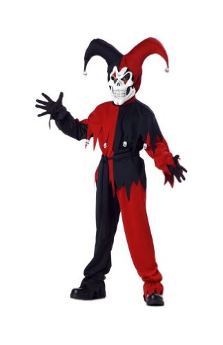 Evil Jester Child Costume - X-Large