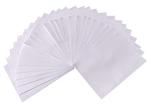 Handmade White Paper A4 Size Sheets  Pack of 50