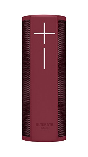 Ultimate Ears BLAST Portable Waterproof Wi-Fi and Bluetooth Speaker with Hands-Free Amazon Alexa Voice Control - Merlot