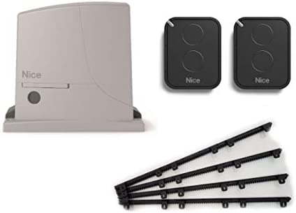 Nice ROX600KIT (motor ROX600 + 2 X FLO2RE transmisores) para el accionamiento de puertas correderas de hasta 600 kg + 4m Cremallera nylon: Amazon.es: Bricolaje y herramientas