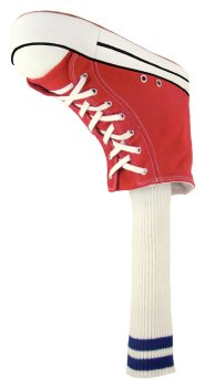 Winning Edge Designs Red Sneaker Golf Head Cover