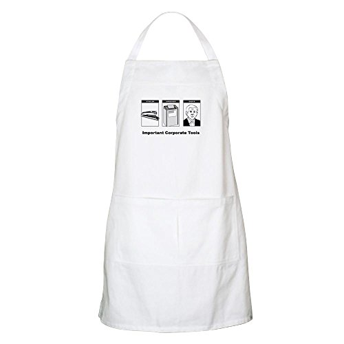 CafePress - Important Corportate Tools BBQ Apron - Kitchen Apron with Pockets, Grilling Apron, Baking Apron