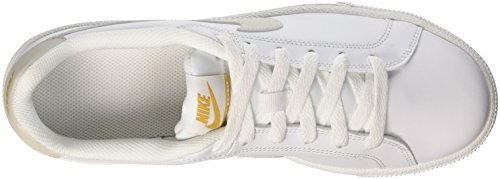 light 110 Nike Baskets Royale Bone Blanc white Court Femme mineral Yellow qUY6vq