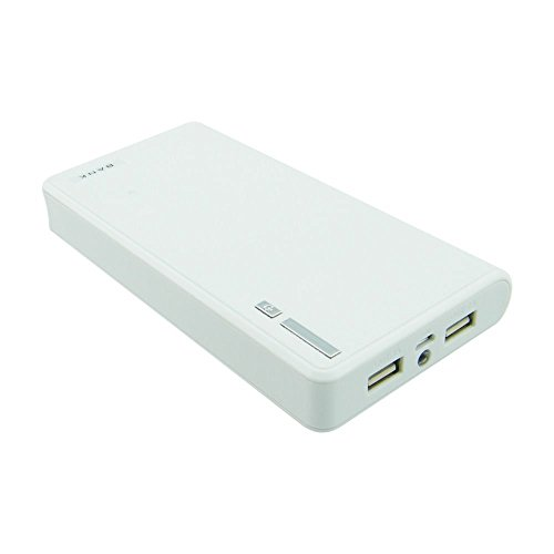 Generic 20000mAh Power Bank for Digital Devices White