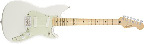 Fender Duo Sonic Short Scale Offset Electric Guitar - Maple Fingerboard - Arctic White