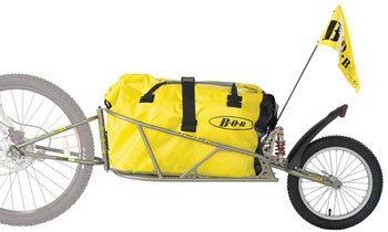 BOB Ibex 28 Plus Suspension Bike Trailer with Dry Sak