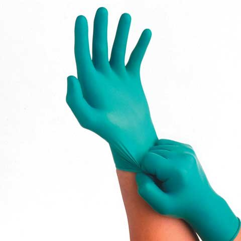 Ansell 92 600 Nitrile Gloves Powder product image