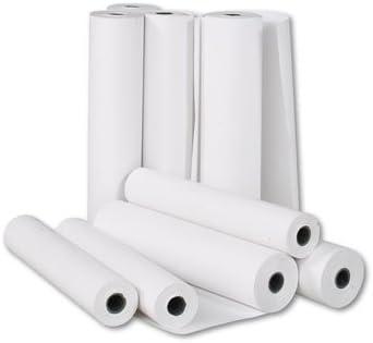 12 rollos papel Plotter 61 cm x 50 mt CAD blanco 90 g impresión profesional proyectos: Amazon.es: Hogar