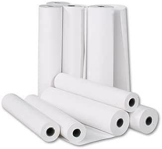 Rollos de papel 4 plotter, 61 cm x 50 m, CAD blanco, 90 g, impresión profesional: Amazon.es: Hogar