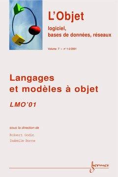 Price comparison product image Lmo'01 langages et modeles a objet revue sti serie l'objetlogiciel bases de donnees reseaux volume 7