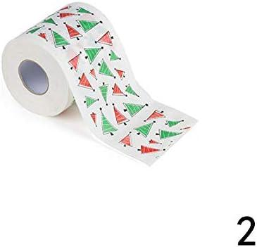 KEKEDA - Rollo de Papel higiénico Impreso para Cocina, 1 Unidad, Papel, 2#, 10 cm x 10 cm