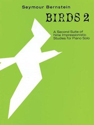 Birds 2. A second suite of nine impressionistic studies for piano solo